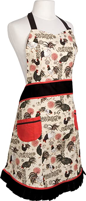 Now Designs Betty Apron Rustic Rooster