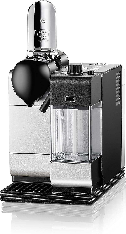 DeLonghi EN520S - Cafetera monodosis, 19 bares, preparación automática de Capuccino, color plateado: Amazon.es: Electrónica