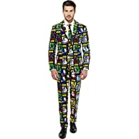 OppoSuits Official Star Wars Suit Strong Force Costume Comes Pants, Jacket Tie
