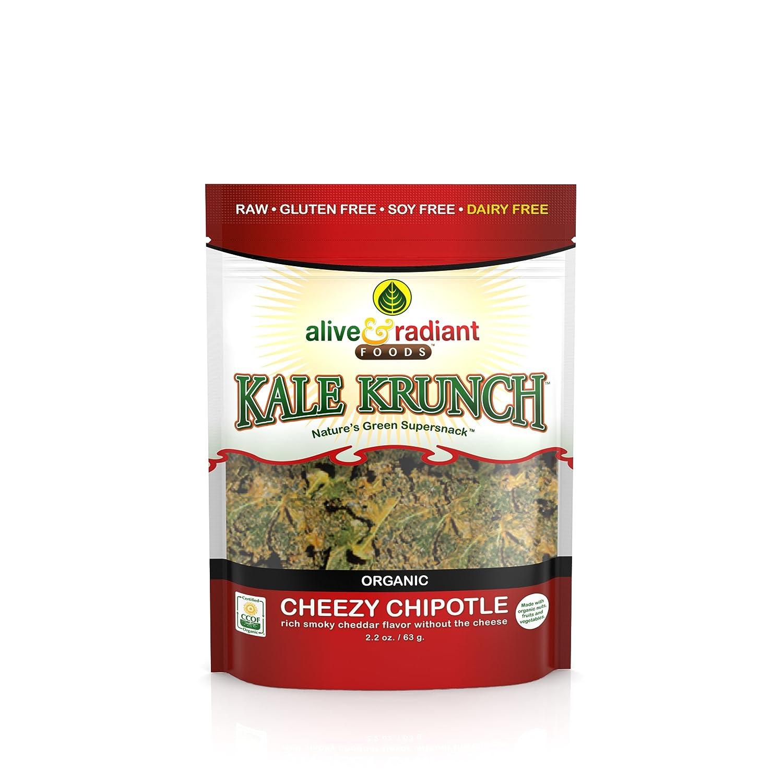 amazon com kale krunch cheezy chipotle 2 2 oz