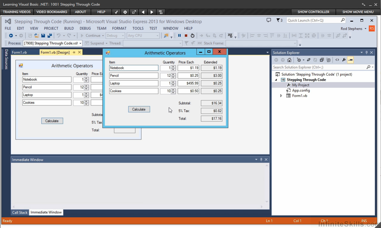 learning visual basic Visual basic is an easy to learn programming language developed by microsoft.