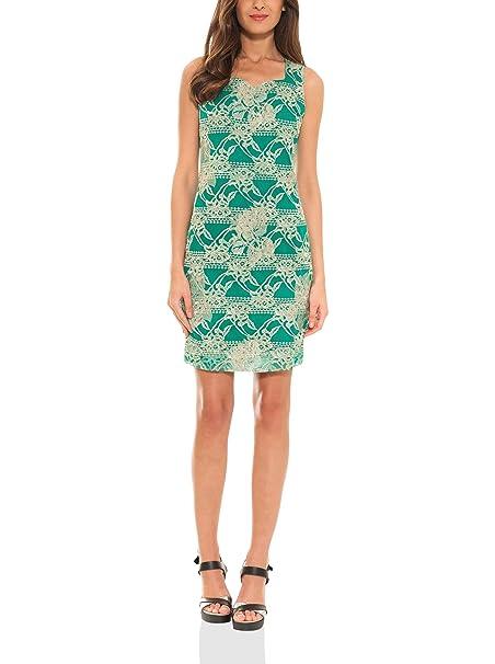 Almatrichi Vestido Normandie Verde ES 46