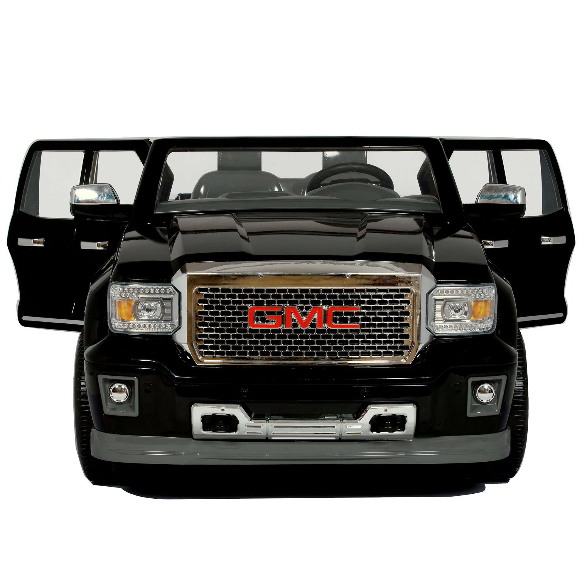 Rollplay GMC Sierra Denali 12-Volt Battery-Powered Ride-On, Black by Rollplay (Image #3)
