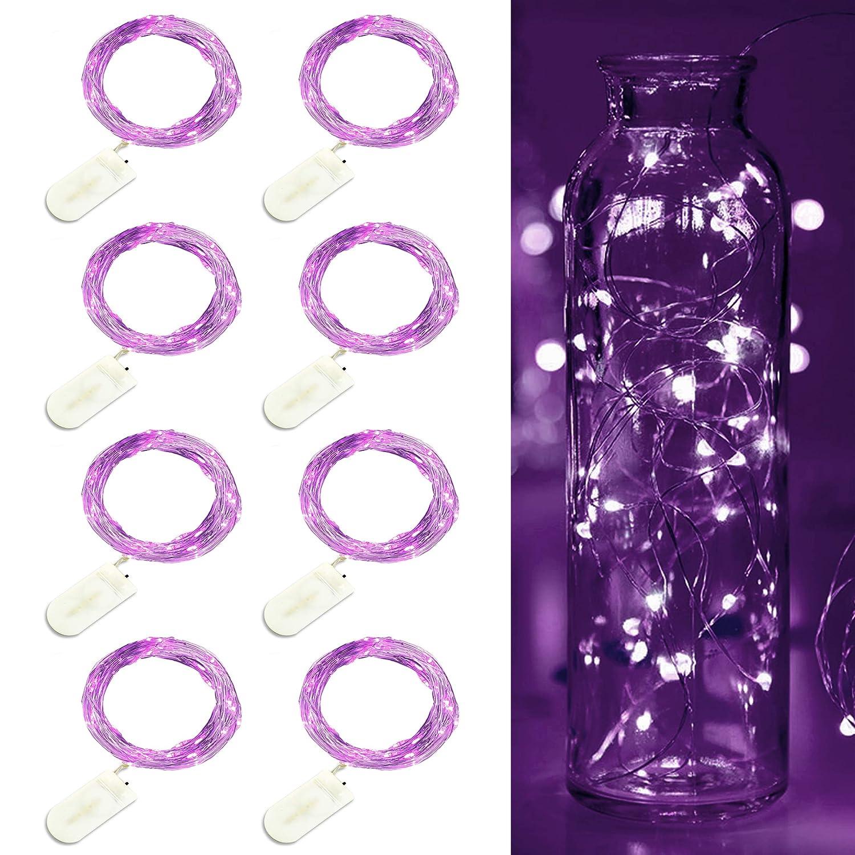 tarro cristal con led