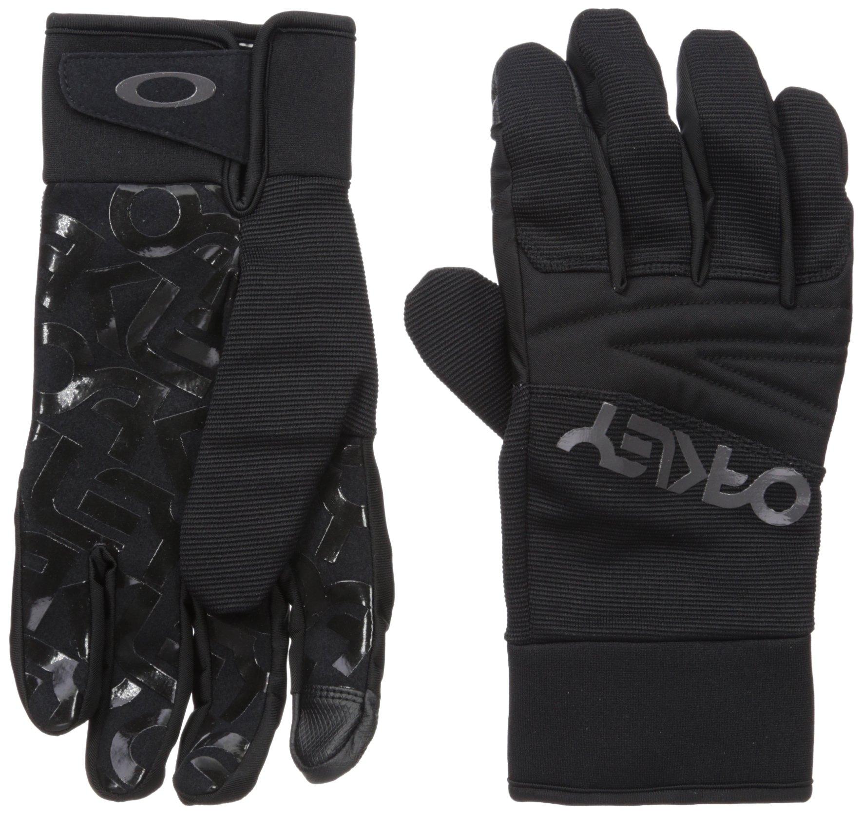 Oakley Factory Park Gloves, Blackout, Small