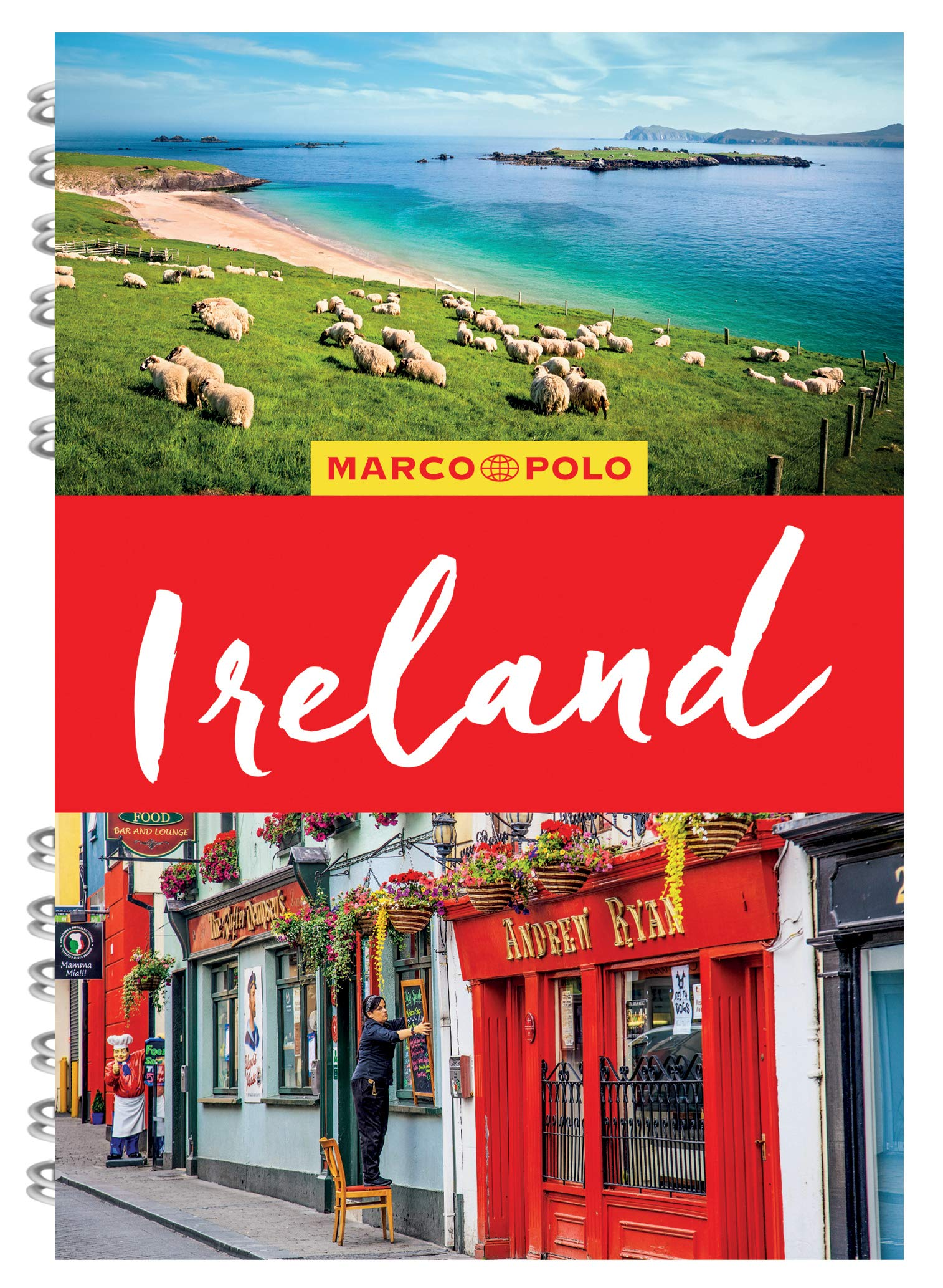 Ireland Marco Polo Travel Guide - with pull out map Marco Polo ...