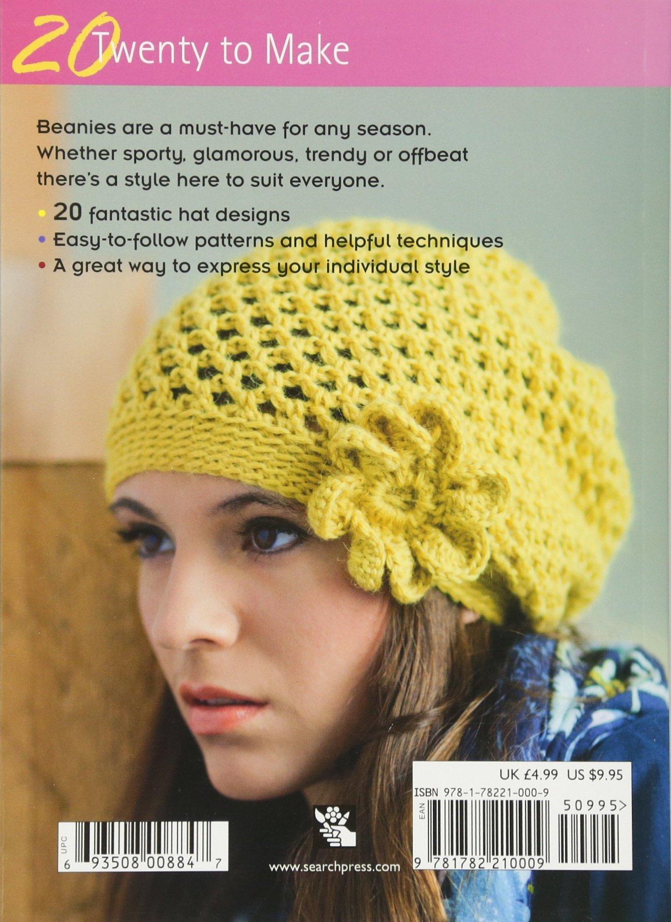 Amazon Crocheted Beanies Twenty To Make 9781782210009