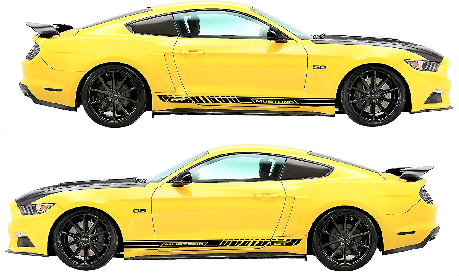 Ford Mustang 2015 2016 2017 Over The Top Double Rally Stripes Choose Color