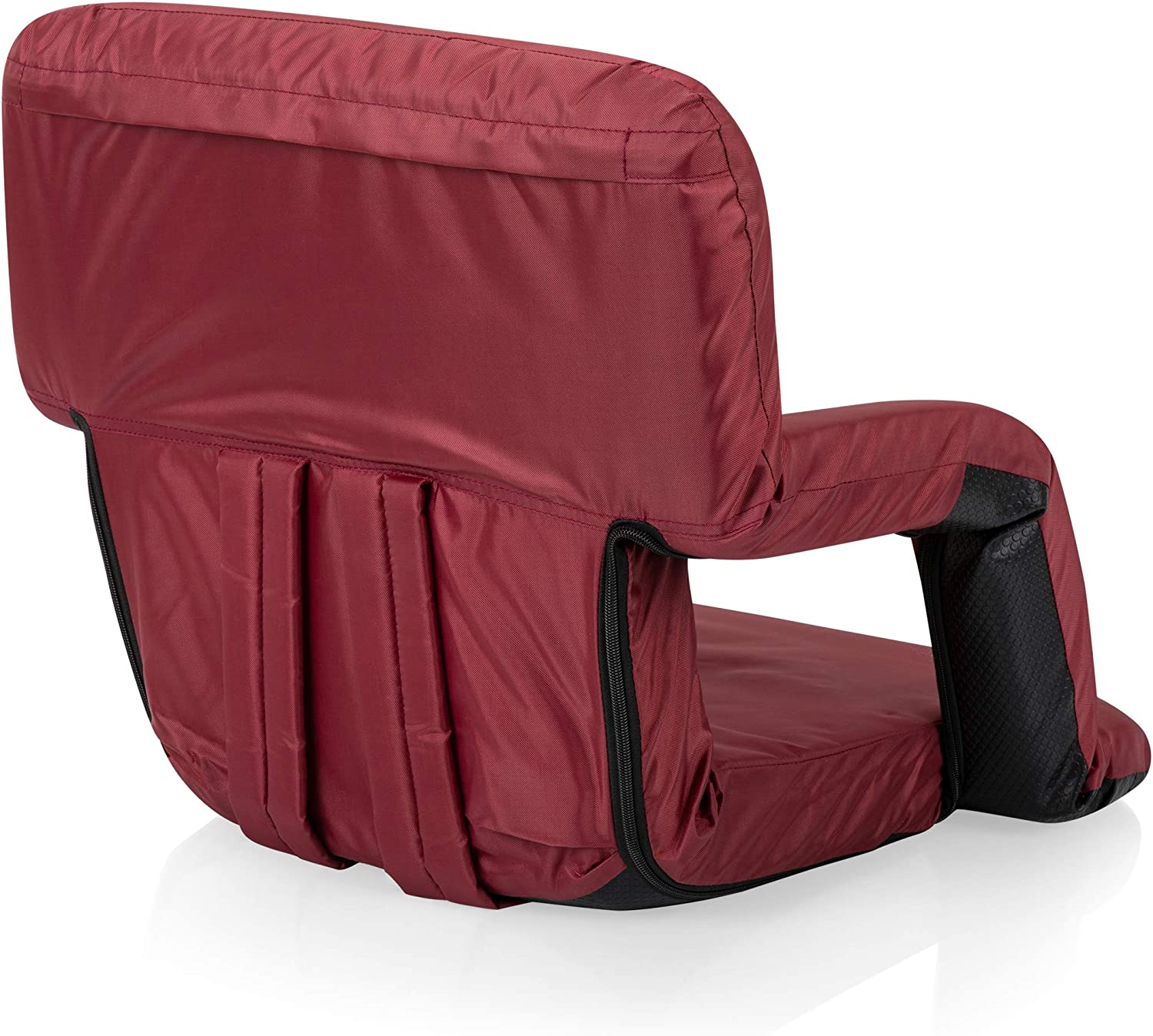 ONIVA a Picnic Time Brand Portable Ventura Reclining Stadium Seat for Bleachers