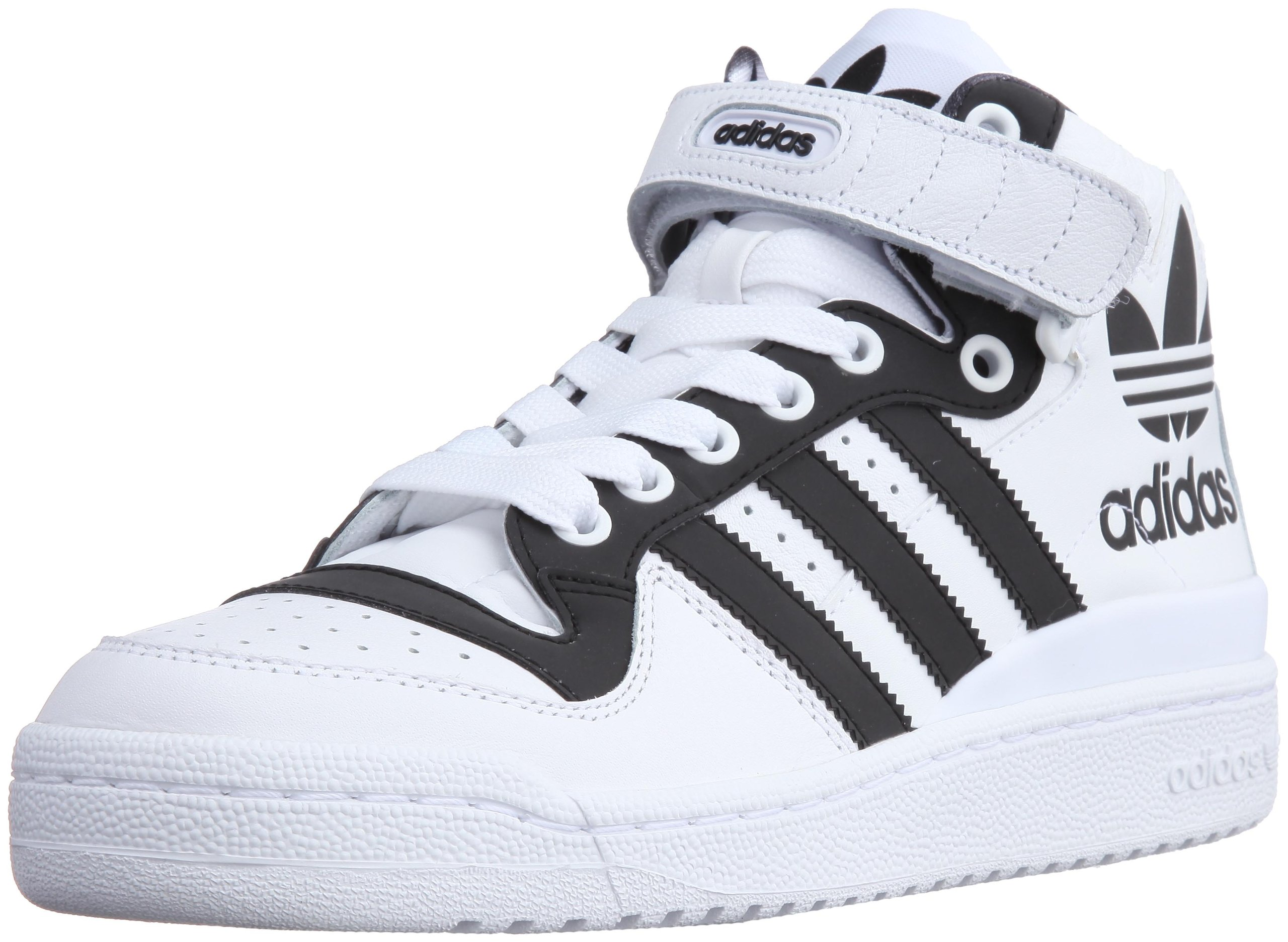 cheap for discount cc2fe e714e Galleon - Adidas Originals Forum Mid RS XL Mens Trainers Hi Tops G43878 White  Black Sneakers Shoes (uk 8 Us 8.5 Eu 42)