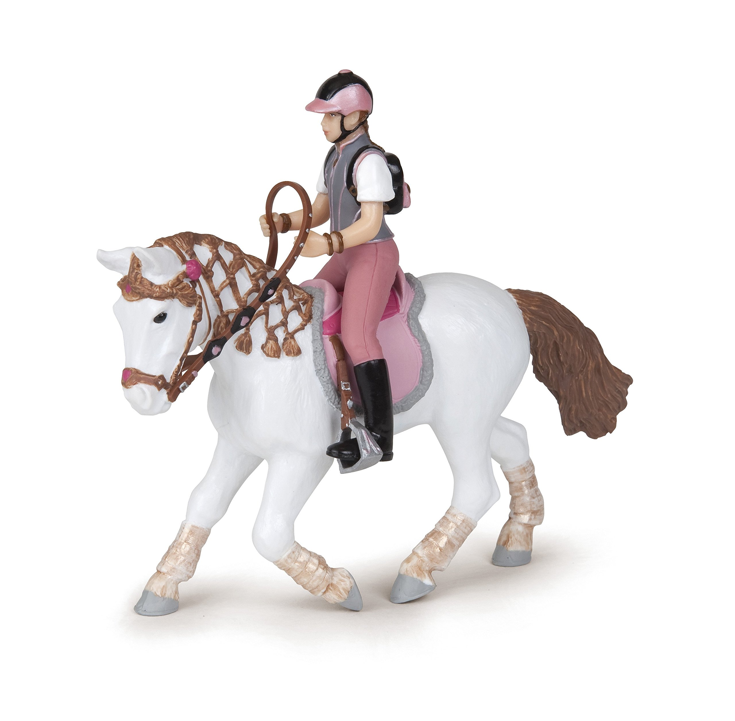 Papo 3465000520076 Horse Equipment Young Trendy Riding Girl/PCE 905052007, oner Size, Other