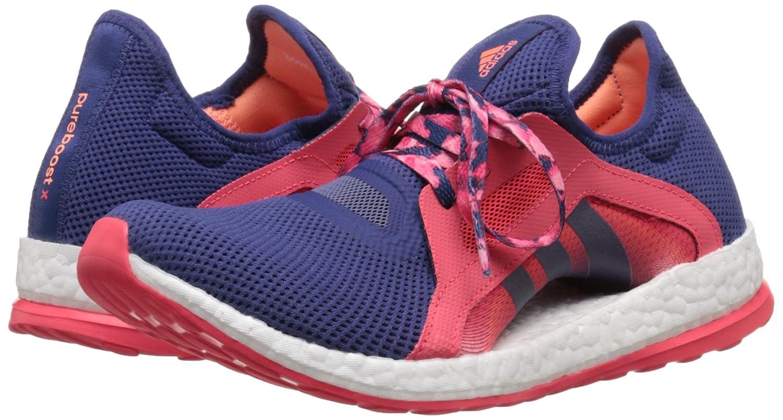 adidas Performance Women's Pureboost X Running Shoe B010UT8XI6 8 B(M) US|Raw Purple/Raw Purple/Shock Red