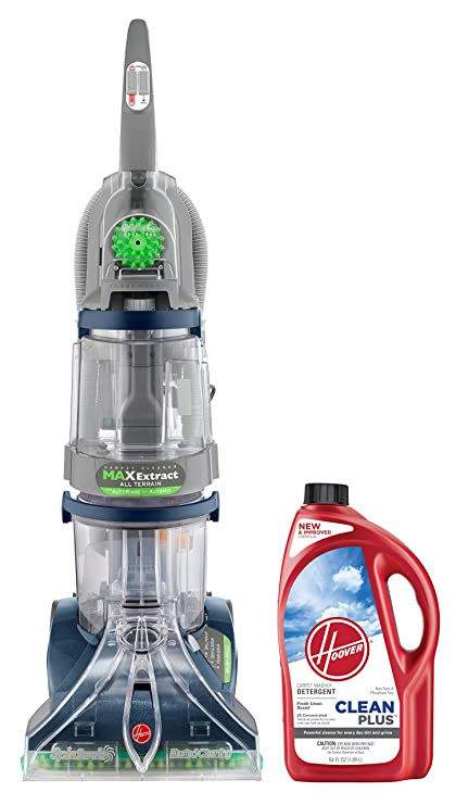 Amazon.com: Hoover Carpet Cleaner Max Extract Dual V All Terrain ...