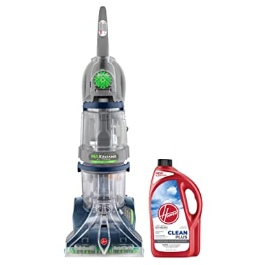 Hoover Carpet Cleaner Max Extract Dual V All Terrain Hardwood Floor and Carpet Cleaner Machine F7452900PC