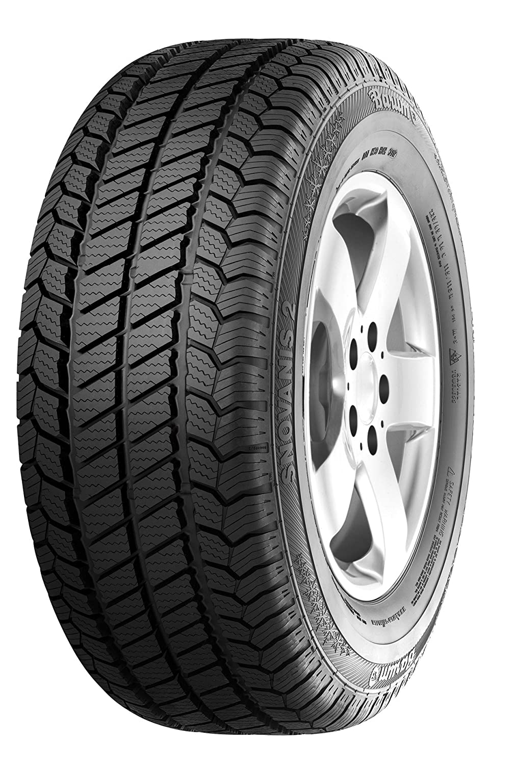 Barum SnoVanis 2 - 205/75 R16 110R - E/C/73 - Winterreifen (4x4 & Transporter) Continental Corporation
