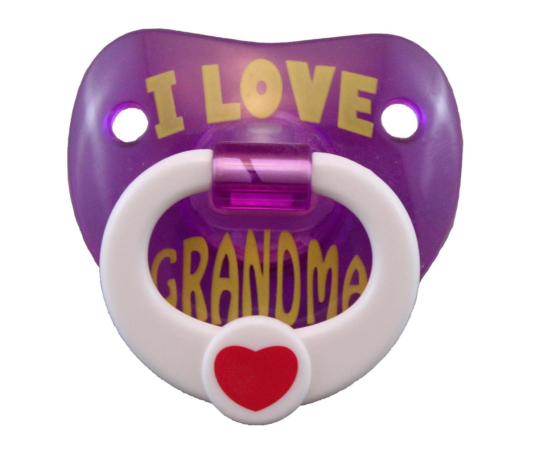 de Billy Bob Chupete I Love Grandma: Amazon.es: Bebé