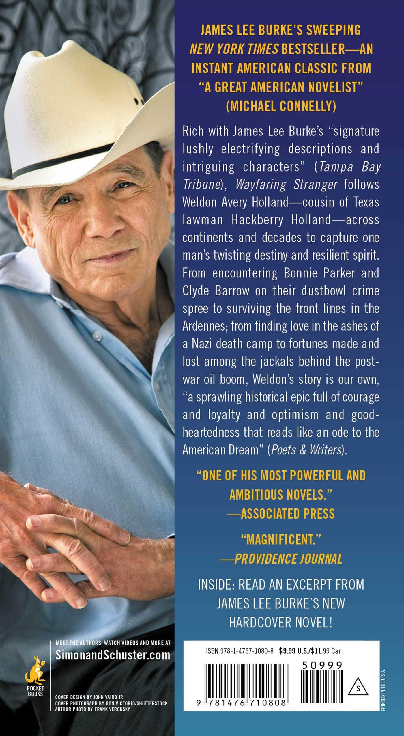 Wayfaring Stranger: A Novel (a Holland Family Novel): James Lee Burke:  9781476710808: Amazon: Books