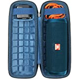 co2CREA Hard Travel Case Replacement for JBL Flip 4 3 Waterproof Portable Bluetooth Speaker (Size 3 -Outer Black and Inner Oc