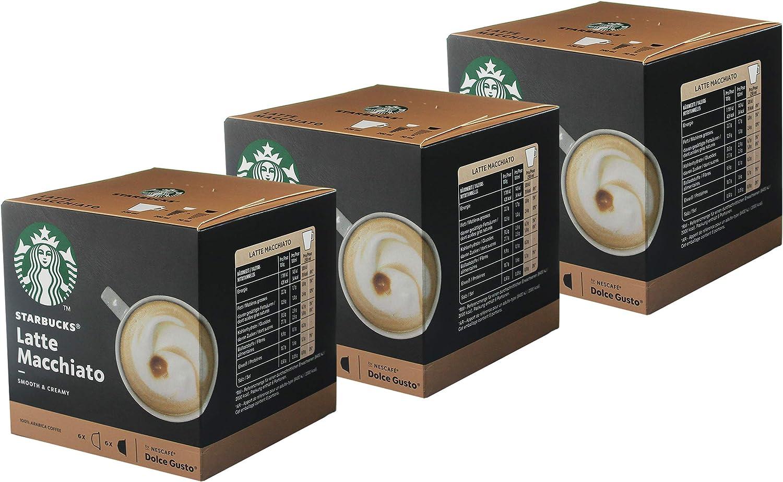 Starbucks Nescafé Dolce Gusto Latte Macchiato - Juego de 3 ...