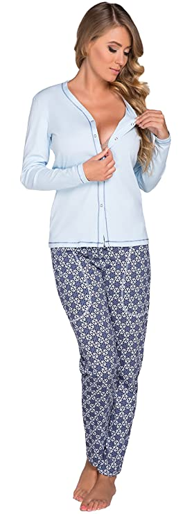 Italian Fashion IF Mujer Lactancia Pijama