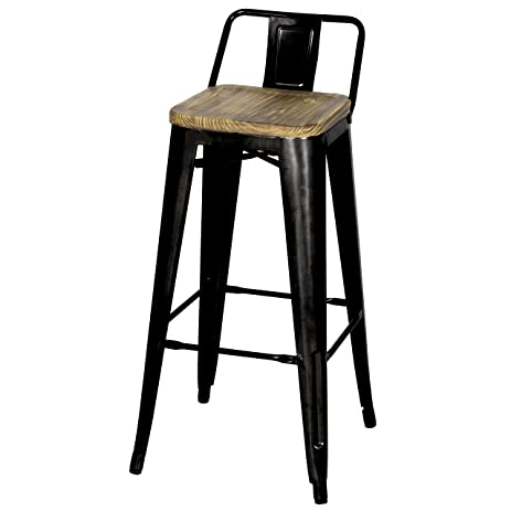 in amisco backrest modern and rustic metal stool wood kitchen distressed barstool counter lauren product with swivel s seat w