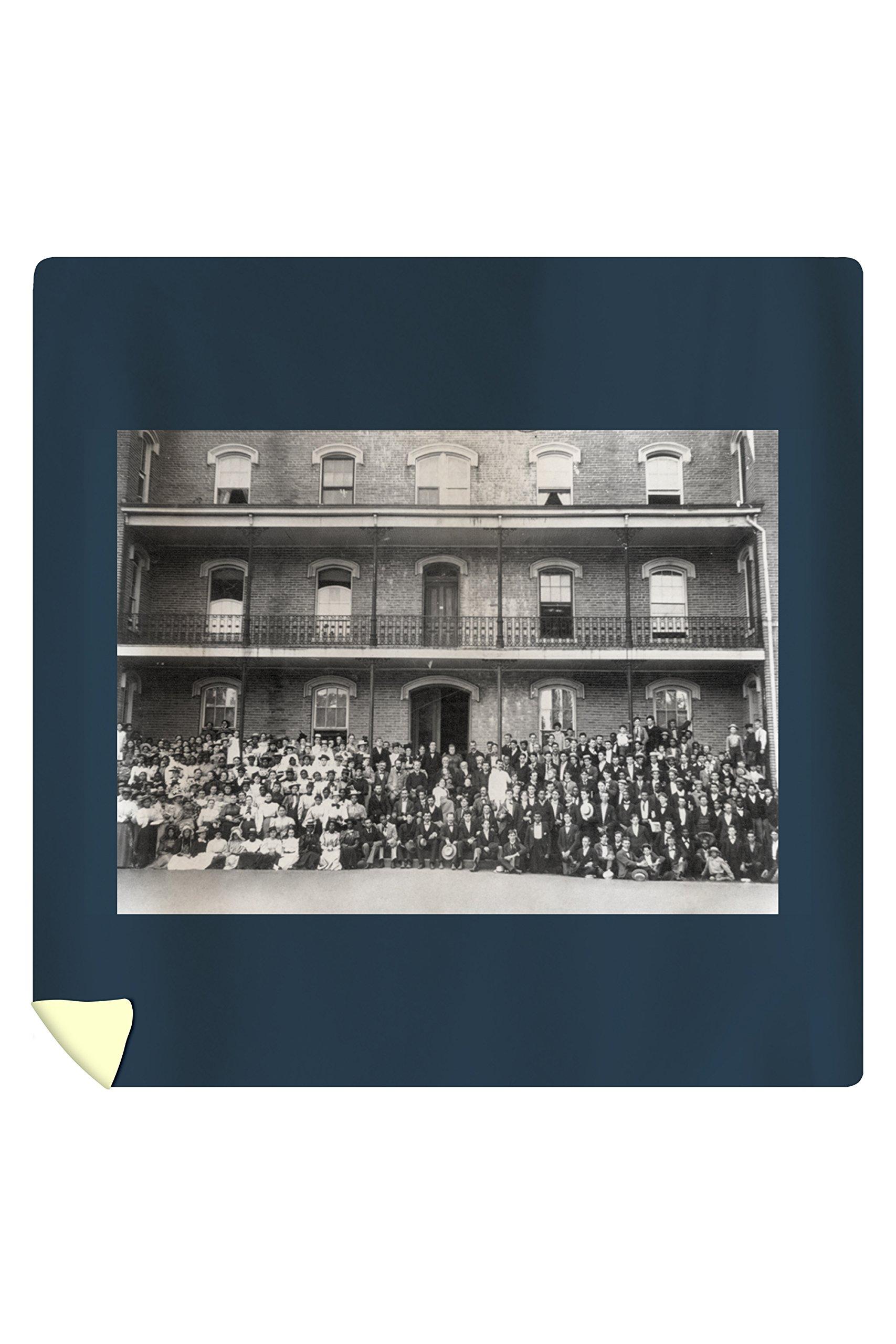 Student Body at Berea College Photograph (88x88 Queen Microfiber Duvet Cover)