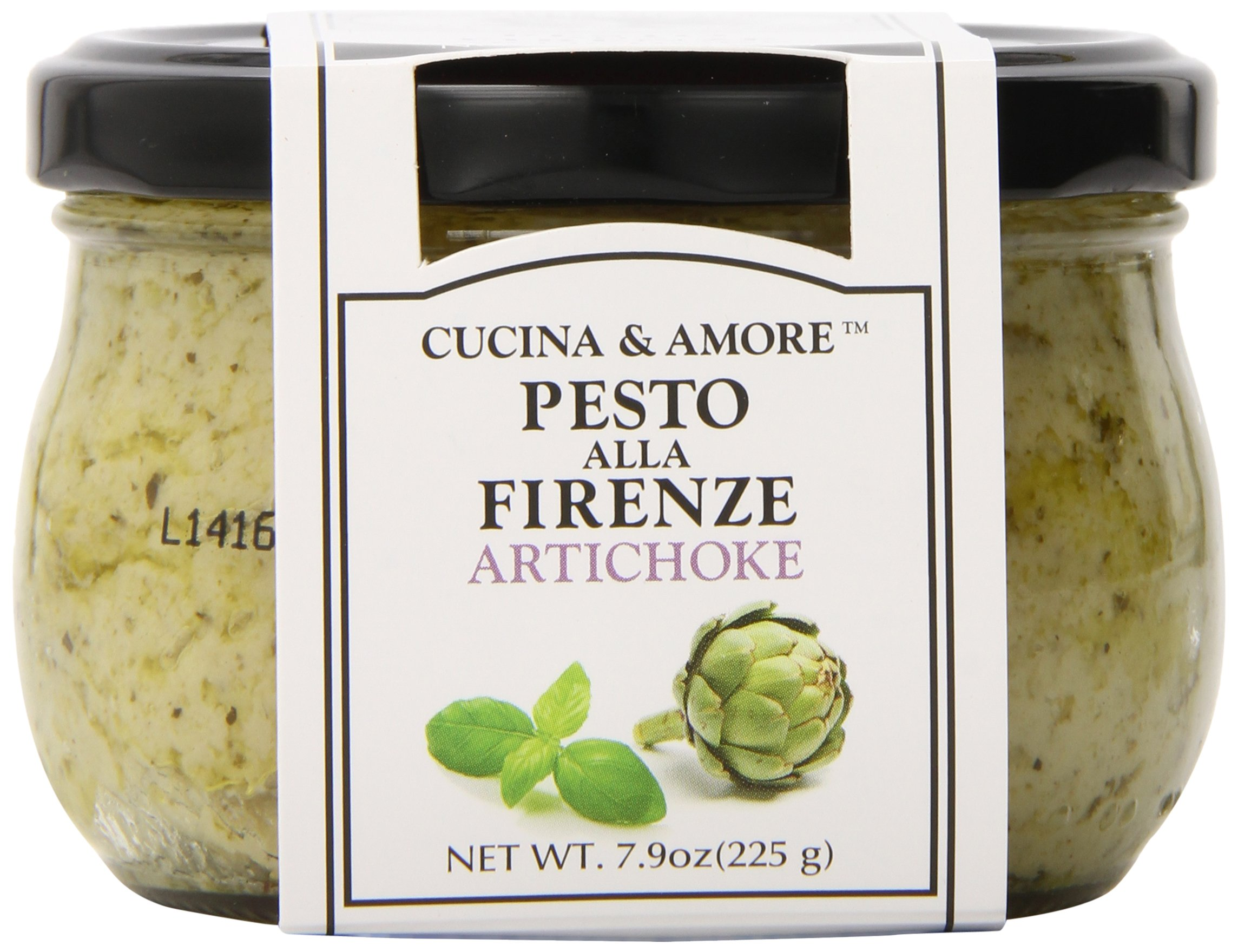 Amazon cucina amore genovese pesto sauce basil 79 ounce cucina amore pesto sauce artichoke 79 ounce pack of forumfinder Image collections