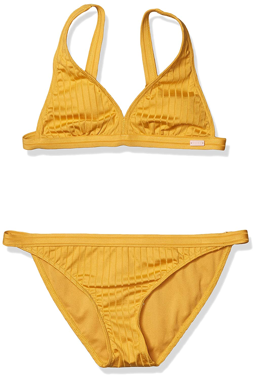 ROXY Girls Big Jungle Shade Elongated Tri Swim Set
