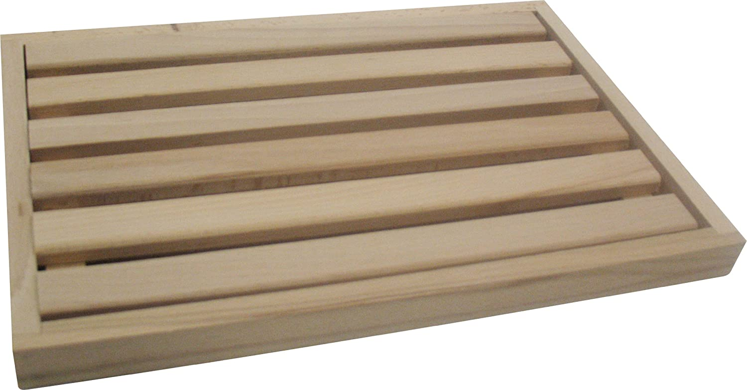 Fackelmann - 31705 - Bread Board with Crumb Catcher - Wood