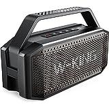 Bluetooth Speaker, W-KING 60W RMS(80W Peak) Super Loud,Full Bass,40H Playtime,Large Waterproof Outdoor Wireless Portable Spea