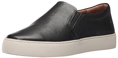 Lena Leather Slip-On Sneakers F9MRIcbJ