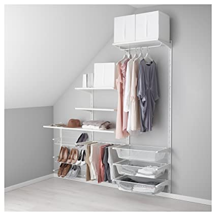 IKEA Algot - pared vertical / estantes / pantalones percha ...