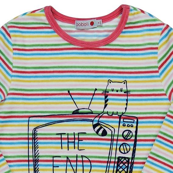 boboli Velour Pyjamas For Girl, Conjuntos de Pijama para Niñas: Amazon.es: Ropa y accesorios