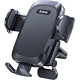 [Big Phone & Thick Case Friendly] Air Vent Phone Mount for Car & Truck [Easy 1 Hand Use] Universal Car Cell Phone Holder Fit