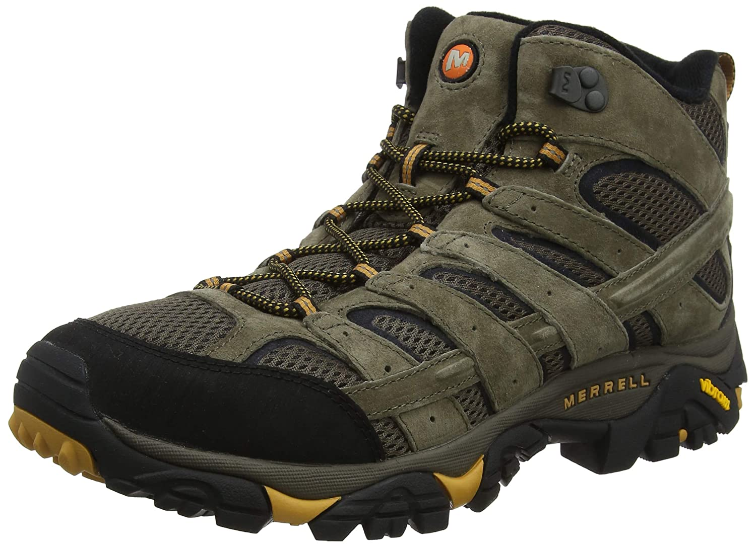 fbaf9aa9f70 Merrell Men's Moab 2 Vent Mid Hiking Boot