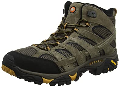 cd931f160ae Amazon.com | Merrell Men's Moab 2 Vent Mid Hiking Boot | Hiking Boots