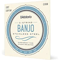 D'Addario EJS60. Cuerdas para banjo de 5 cuerdas