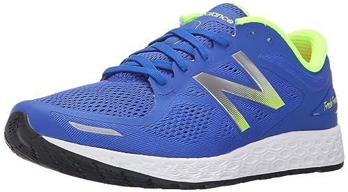 New Balance Men's Fresh Foam Zantev2 Running Shoe,Blue/Green,8.5 ...