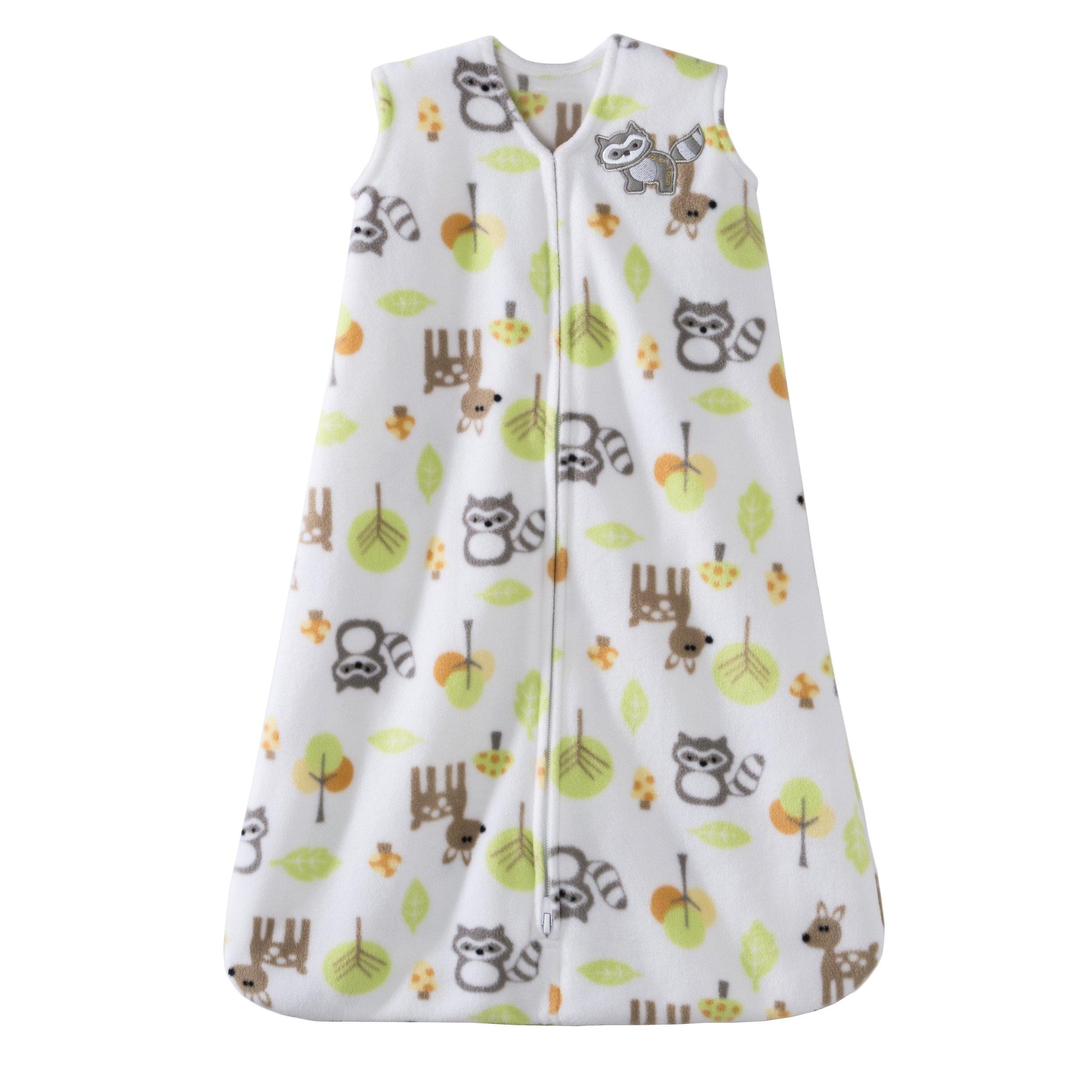 Halo SleepSack Micro-Fleece Wearable Blanket, Woodland, Large
