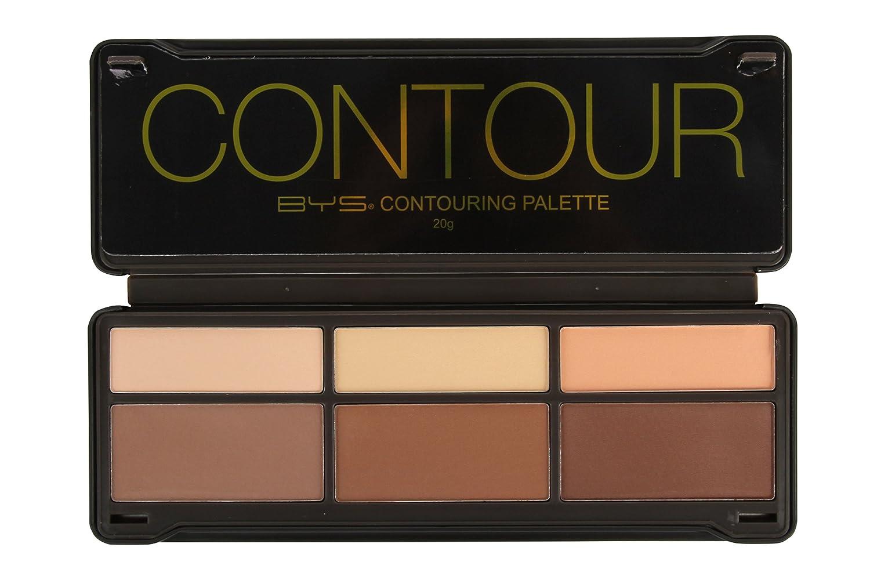 BYS Contour Palette (3x Contouring Powder, 3x Highlighting Powder)