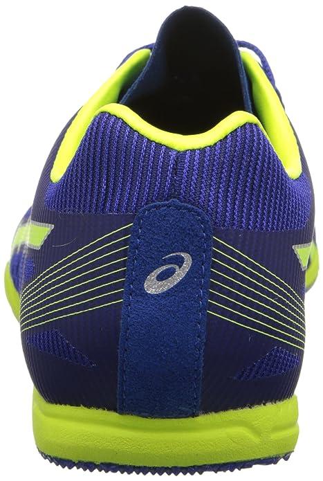 Asics Chaleur Chaser Chaussures Pour Hommes, 39 EU, Deep Blue/Flash Yellow