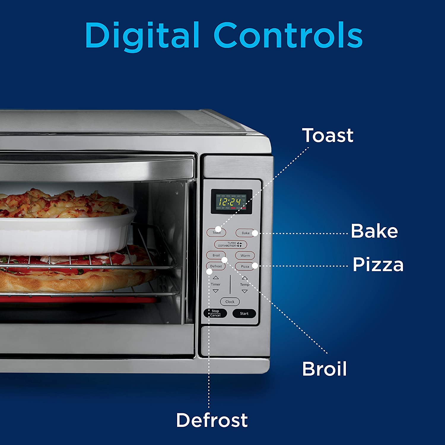 Best toaster oven 2021 - Extra large toaster oven