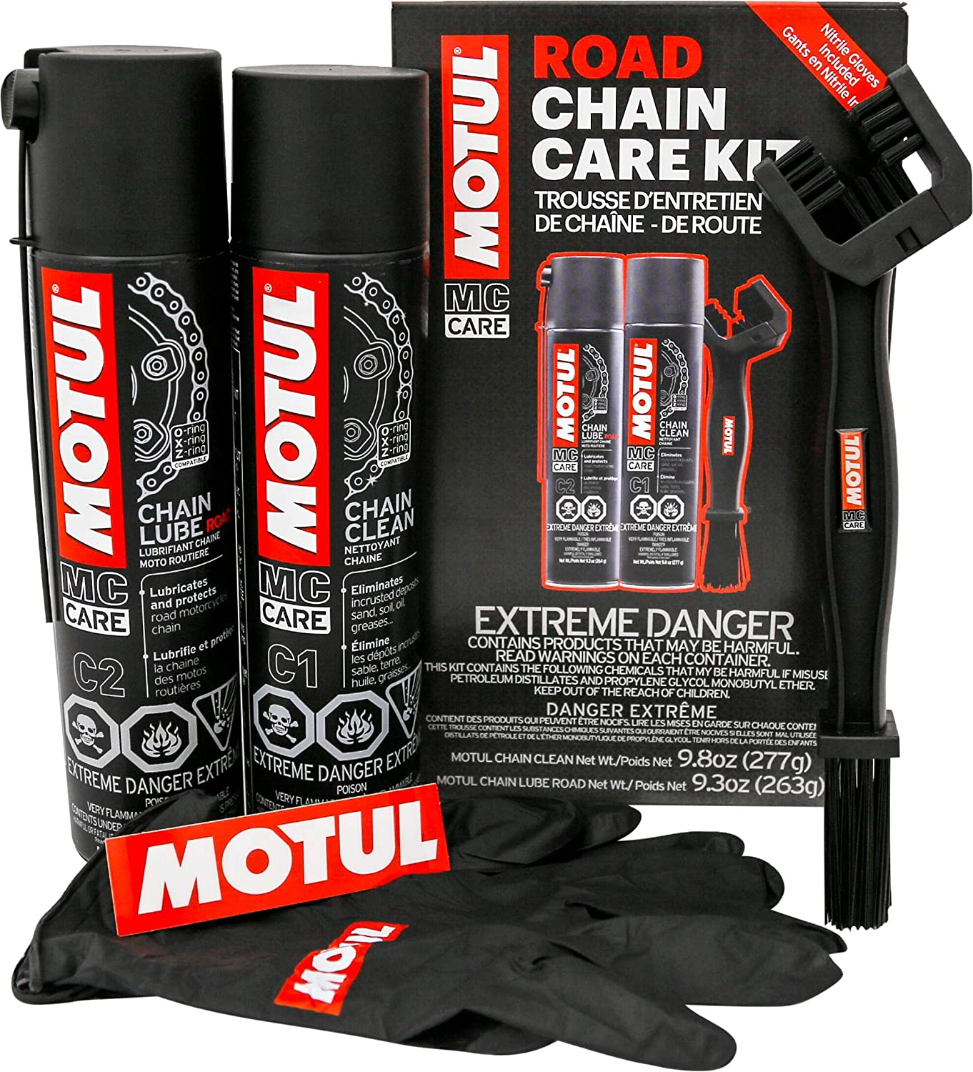 Motul 109767 Chain Care Kit