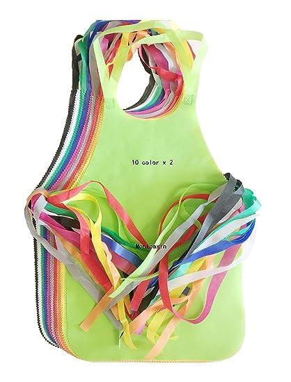 Monicaxin 20( 10 Colori x 2pc) IL grembiule con non-tessuti per usa ...