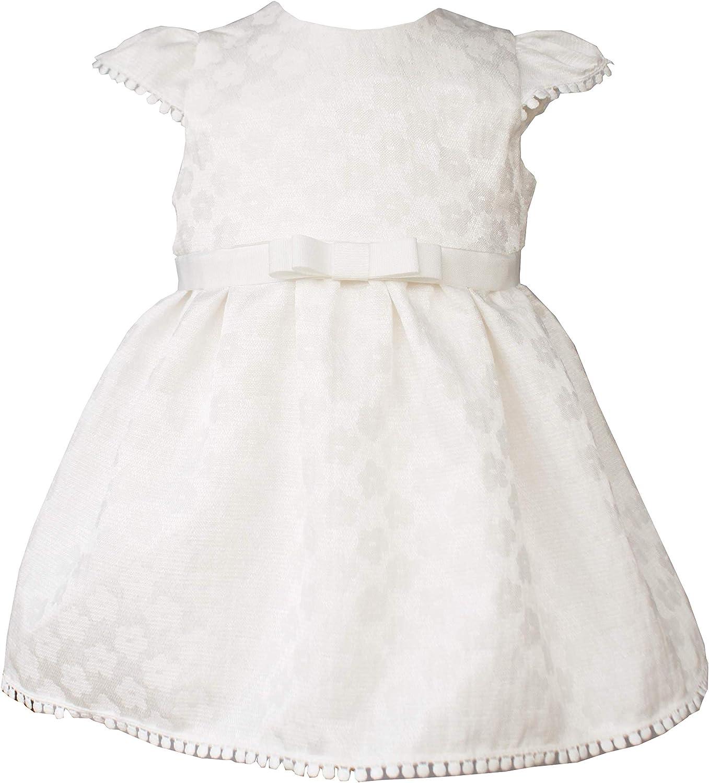 Capti M/ädchen Kleid Taufkleid Pola