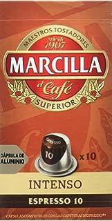MARCILLA Café Espresso Descafeinado Intensidad 6 - 10 ...