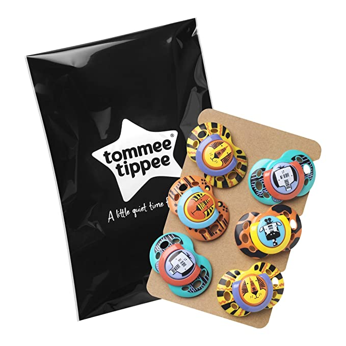 Tommee Tippee Chupete Fun 6 unidades: Amazon.es: Bebé