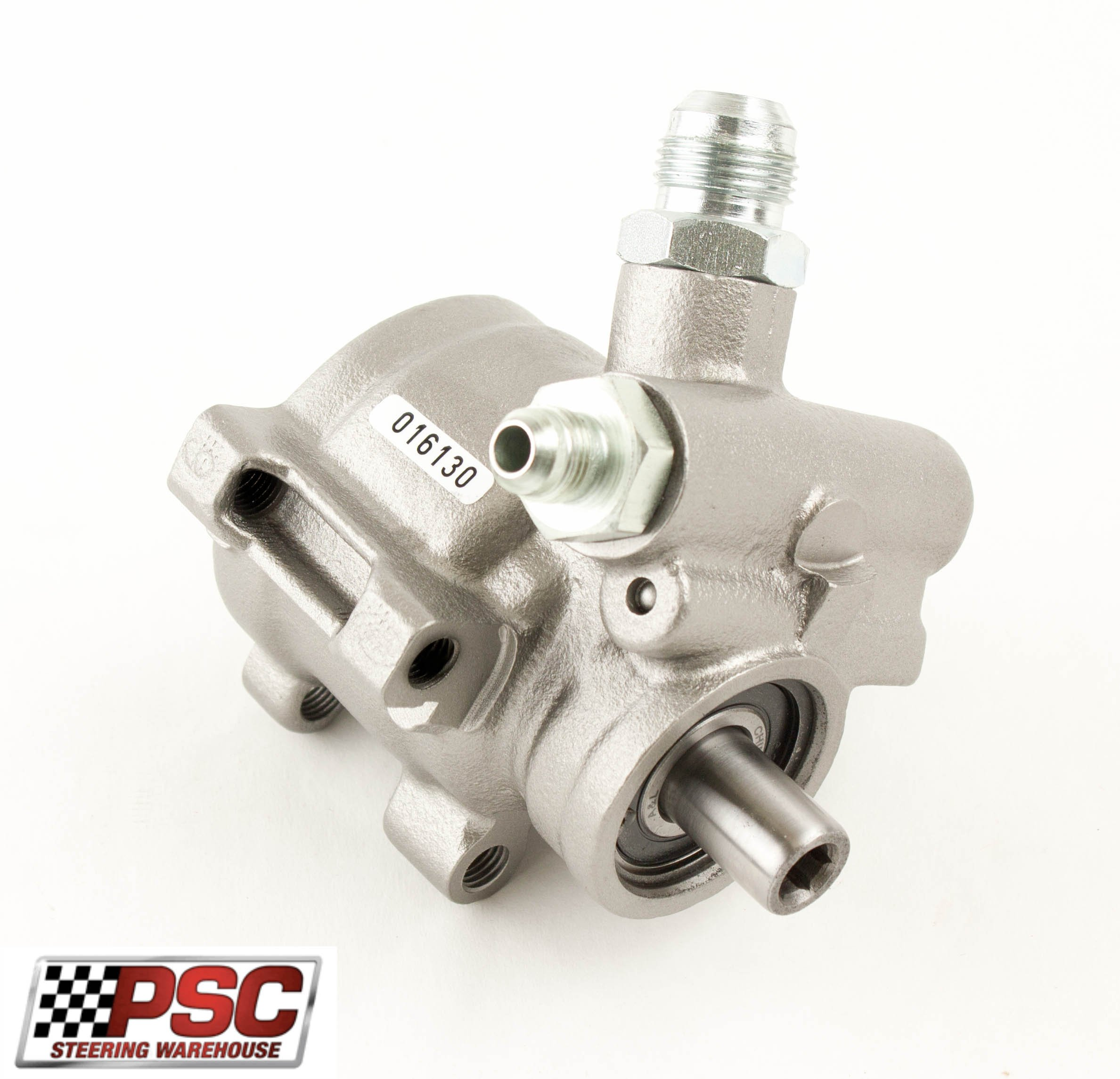 Hi Flow TC Type Pump w/ #6 jic male pressure fitting # 10 jic return/ drilled mount holes by PSC Motorsports