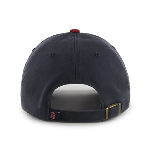 7687112a4 Amazon.com : MLB Boston Red Sox Men's '47 Brand Alternate 1 Clean Up Cap,  Navy, One-Size : Sports Fan Baseball Caps : Clothing