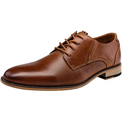 JOUSEN Men's Oxford Leather Dress Shoes Formal Shoes for Men | Oxfords
